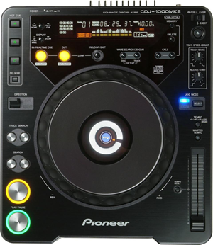 Pioneer CDJ 1000 MK3 (CD Player)