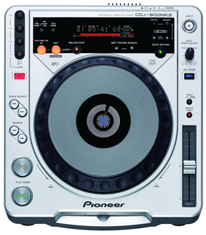 Pioneer CDJ800 MK2 (CD Player)