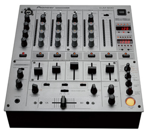 Pioneer DJM 600 4 Channel Mixer